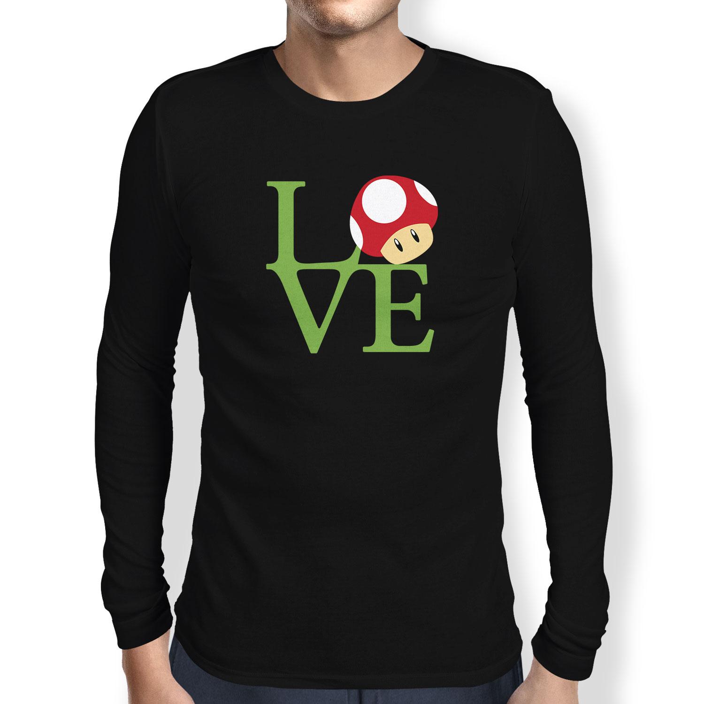 TEXLAB-Mushroom-Love-Herren-Langarm-T-Shirt-pop-